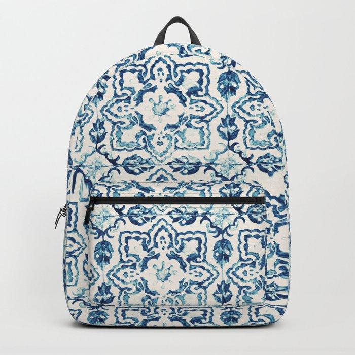 tile pattern IV - Azulejos, Portuguese tiles Backpack