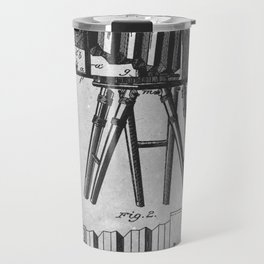 1885 Photographic camera Travel Mug