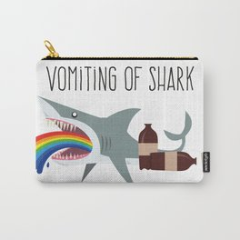 Vomiting of shark Carry-All Pouch
