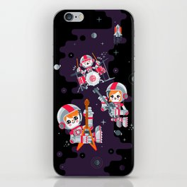 Space Rock iPhone Skin