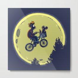 Fry me to the moon Metal Print