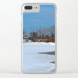 Winter's Appetite Clear iPhone Case