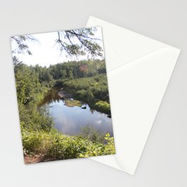 Hiking to Superior Stationery Cards