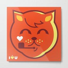 UNDO | ILU Pet Lover series [ tobias ] Metal Print