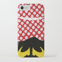minnie mouse iPhone & iPod Cases featuring minnie mouse minimal grunge... by studiomarshallarts