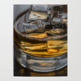 Scotch on the Rocks Poster