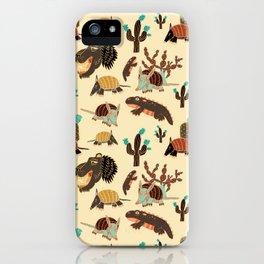 Desert Creatures iPhone Case
