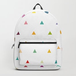 Colourful tiny flags Backpack