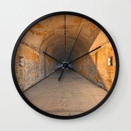 California War Tunnel Wall Clock