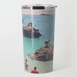 Let's Jump Off The Rocks Travel Mug