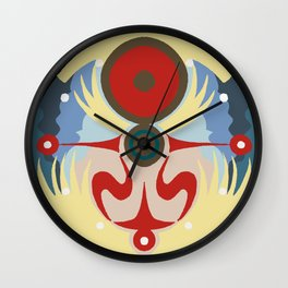 Dawn of The First Day Wall Clock