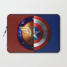 Wonder Woman/Captain America Laptop Sleeve