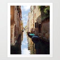 Venice Italy Canal Art Print