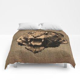 Vintage Tiger Comforters