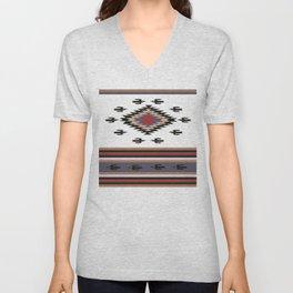 American Native Pattern No. 135 Unisex V-Neck