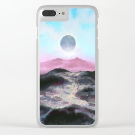 No Man's Sky - Speedpaint 1 Clear iPhone Case