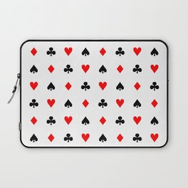 Playing cards pattern Laptop Sleeve