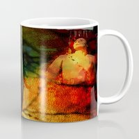dragon age inquisition Mugs featuring Inquisition by Joe Ganech