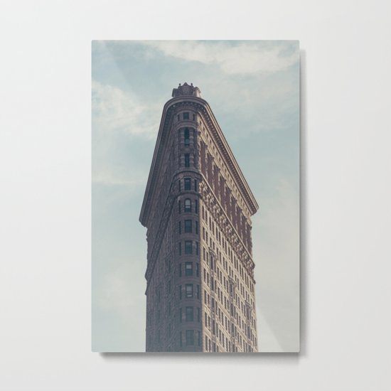 Flat Flat Iron - NYC Metal Print