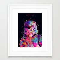 soldier Framed Art Prints featuring Soldier by Alessandro Pautasso