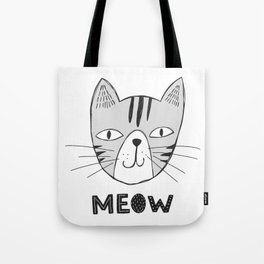 Funny Pets Collection-Vol.01 (MEOW) Tote Bag