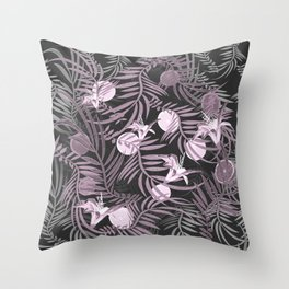 Plants Flowers and Your Strong Fruit Throw Pillow