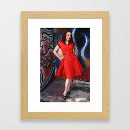 Vera Baby Framed Art Print