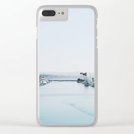 Dana Point Harbor Clear iPhone Case