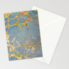 Italian Water Marbling Stationery Cards