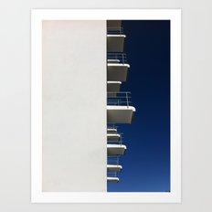 Bauhaus Dormitory Art Print