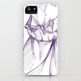 Bra-Top Dress iPhone Case