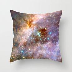 Swan Nebula Throw Pillow