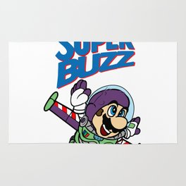 Super Buzz Lightyear Rug