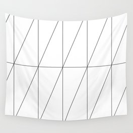Inverted Triangles by Friztin Wall Tapestry