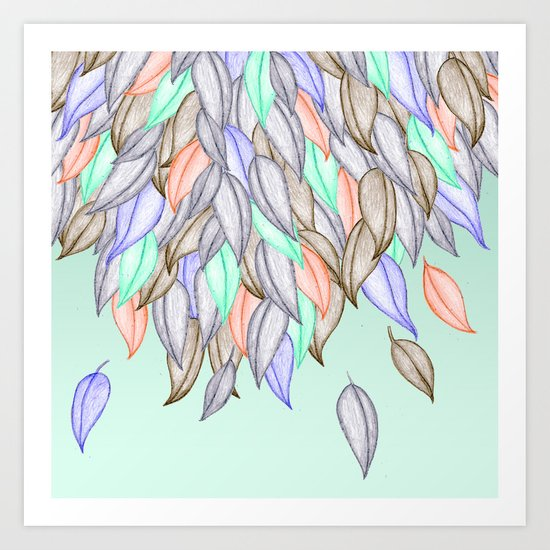 CRAYON LOVE  - A Different Nature Art Print