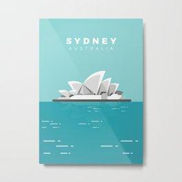 Sydney Metal Print
