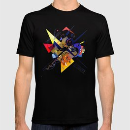 Kandinsky On White II (Auf Weiss) 1923 Artwork Reproduction, Design for Posters, Prints, Tshirts, Me T-shirt