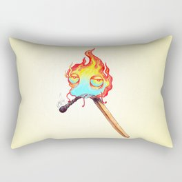 Mr. Flame Rectangular Pillow