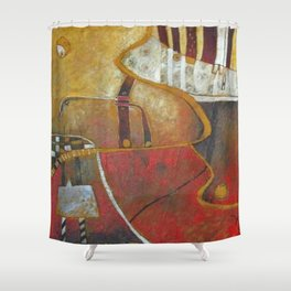 Gabriela Garbo Shower Curtain
