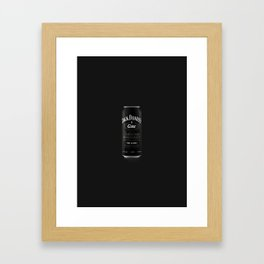 "Canned Cocktails: ""The Lemmy"" Framed Art Print"
