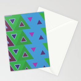 abstact blue 1 Stationery Cards