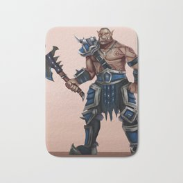 Warrior Bath Mat