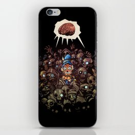 More BRAINS for OZ iPhone Skin