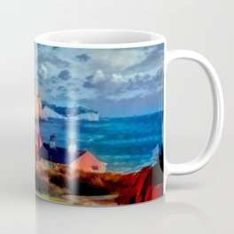 Dover in the Colors Of Ayers Rock Coffee Mug