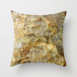 Rocky Detail Throw Pillow