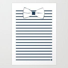 Noeud Pap marin Art Print