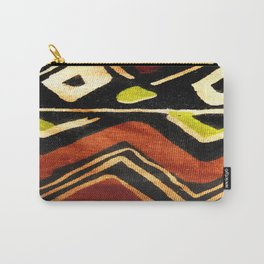 Africa Design Fabric Texture Carry-All Pouch