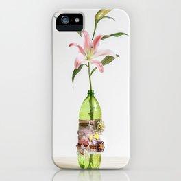 STARGAZER AND FLOWER VASE iPhone Case