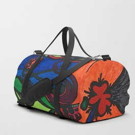 Women with Sexual Traits Duffle Bag