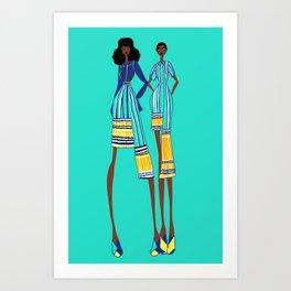 Mel Art Print
